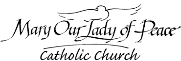 Mary Our Lady of Peace Catholic Church logo